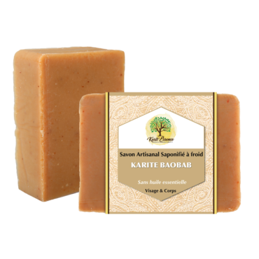 savon naturel, savon à froid, saponification à froid, savon artisanal, savon bio, beurre de karité, huile de baobab, baobab