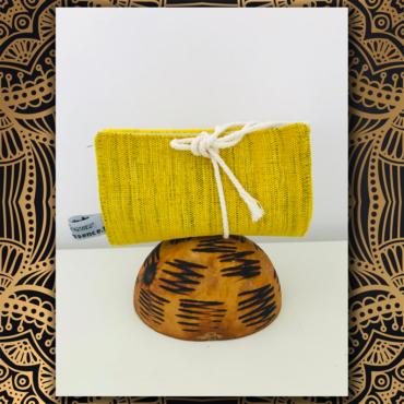 pochette savon, étui à savon, tissu africain, faso danfani, wax, tissu wax, coton, angers, savonnerie artisanale angevine, savonnerie artisanale à murs erigné