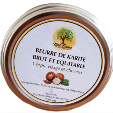 karité, beurre de karité brut, beurre de karité non raffiné, beurre de karité équitable, commerce équitable, savonnerie artisanale angevine
