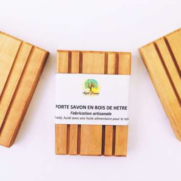 savonnerie artisanale angevine, porte-savon, porte-savon en bois, porte-savon en bois artisanal, fabrication française, bois français
